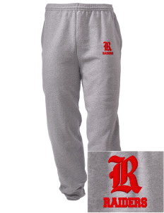 Sac Community High School Indians Embroidered Men's Sweatpants with Pockets