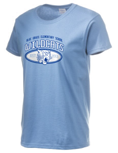 Blue Grass Elementary School Wildcats Women's 6.1 oz Ultra Cotton T-Shirt