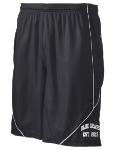 "Blue Grass Elementary School Wildcats Men's Pocicharge Mesh Reversible Short, 9"" Inseam"