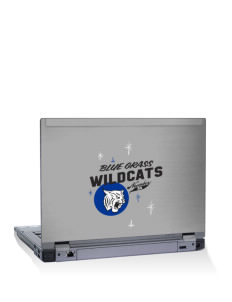"Blue Grass Elementary School Wildcats 14"" Laptop Skin"