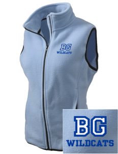 Blue Grass Elementary School Wildcats Embroidered Women's Fleece Vest