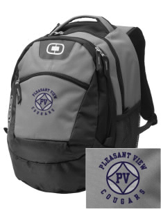 Pleasant View Elementary School Cougars Embroidered OGIO Rogue Backpack