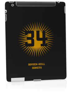 Boyden-Hull High School Comets Apple iPad 2 Skin