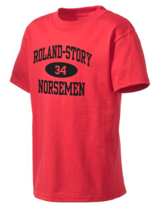 Roland-Story High School Norsemen Kid's Lightweight T-Shirt
