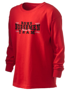 Roland-Story High School Norsemen Kid's 6.1 oz Long Sleeve Ultra Cotton T-Shirt
