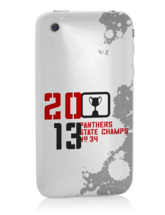 Creston Senior High School Panthers Apple iPhone 3G/ 3GS Skin