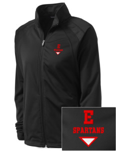 East Middle School Spartans Embroidered Women's Tricot Track Jacket