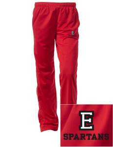East Middle School Spartans Embroidered Women's Tricot Track Pants