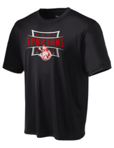 East Middle School Spartans Champion Men's Wicking T-Shirt