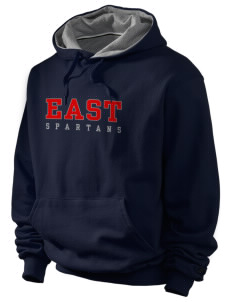 East Middle School Spartans Champion Men's Hooded Sweatshirt