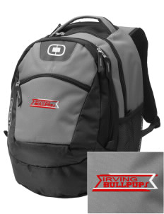 Irving Primary Center Bullpups Embroidered OGIO Rogue Backpack