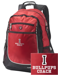 Irving Primary Center Bullpups Embroidered OGIO Carbon Backpack