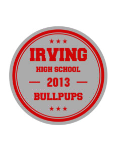 Irving Primary Center Bullpups Sticker