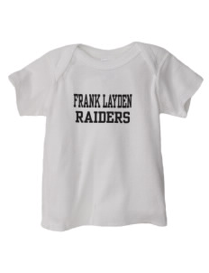 Frank Layden Elementary School Raiders  Baby Lap Shoulder T-Shirt
