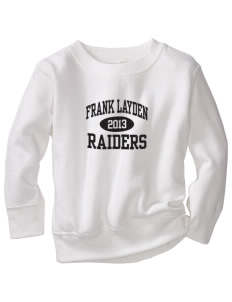 Frank Layden Elementary School Raiders Toddler Crewneck Sweatshirt