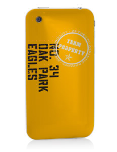 Oak Park Elementary School Eagles Apple iPhone 3G/ 3GS Skin