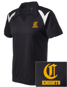 Central High School Knights Embroidered Holloway Women's Laser Polo