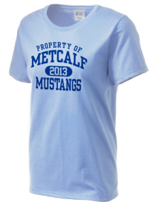 Metcalf Elementary School Mustangs Women's Essential T-Shirt