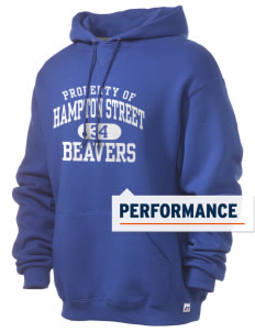 Hampton Street Elementary School Beavers Russell Men's Dri-Power Hooded Sweatshirt