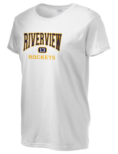 Riverview Elementary School Rockets Women's 6.1 oz Ultra Cotton T-Shirt