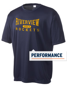 Riverview Elementary School Rockets Men's Competitor Performance T-Shirt