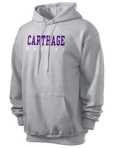 Carthage Elementary School Eagles Men's 7.8 oz Lightweight Hooded Sweatshirt
