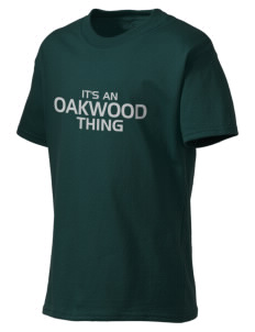 Oakwood High School Hawks Kid's Lightweight T-Shirt