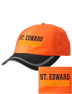 St. Edward Thunderbirds  Embroidered Safety Cap