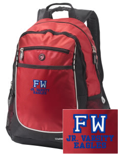 Falling Water Elementary School Eagles Embroidered OGIO Carbon Backpack