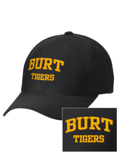 Burt School Tigers Embroidered Wool Adjustable Cap