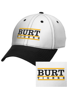 Burt School Tigers Embroidered New Era Snapback Performance Mesh Contrast Bill Cap
