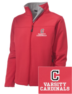 Columbus Elementary School Cardinals Embroidered Women's Soft Shell Jacket