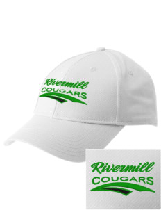 Rivermill Elementary School Cougars  Embroidered New Era Adjustable Structured Cap
