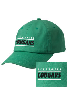 Rivermill Elementary School Cougars Embroidered Champion 6-Panel Cap