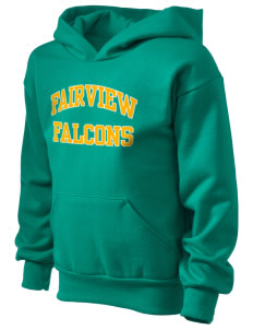 Fairview Elementary School Falcons Kid's Hooded Sweatshirt