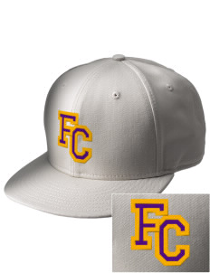 Falls City Elementary School Mountaineers  Embroidered New Era Flat Bill Snapback Cap