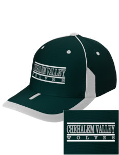 Chehalem Valley Middle School Wolves Embroidered M2 Universal Fitted Contrast Cap