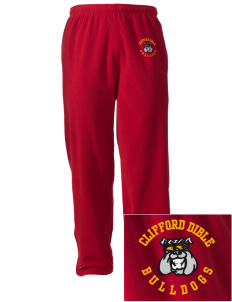 Clifford Dible Elementary School Bulldogs Embroidered Holloway Men's Flash Warmup Pants