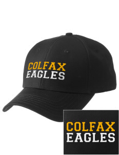 Colfax Elementary School Eagles  Embroidered New Era Adjustable Structured Cap