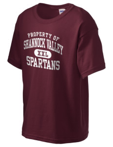 Shannock Valley High Spartans Kid's 6.1 oz Ultra Cotton T-Shirt