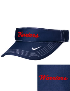 Everett Senior High School Warriors Embroidered Nike Golf Dri-Fit Swoosh Visor