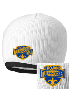 Tulpehocken High School Trojans Embroidered Champion Striped Knit Beanie