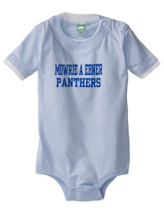 Mowrie A Ebner Elementary School Panthers Baby One-Piece with Shoulder Snaps