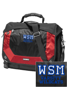 Walter S Miller Elementary School Wildcats Embroidered OGIO Jack Pack Messenger Bag