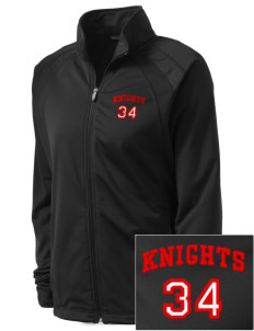 Landisville Intermediate Center Knights Embroidered Women's Tricot Track Jacket