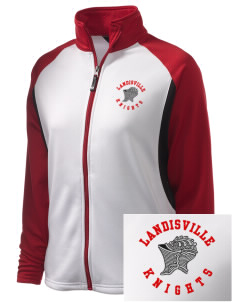 Landisville Intermediate Center Knights Embroidered Holloway Women's Reaction Tri-Color Jacket