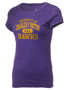Charles F Patton Middle School Hawks Holloway Women's Groove T-Shirt