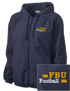 Football University Seattle Football Embroidered Women's Hooded Essential Jacket