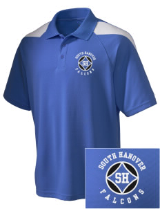 South Hanover Elementary School Falcons Embroidered Holloway Men's Frequency Performance Pique Polo
