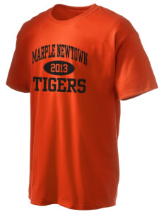 Marple Newtown High School Tigers Hanes Men's 6 oz Tagless T-shirt